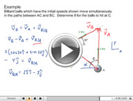 Play Dynamics Kinematics of Particles Video 2