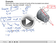 Play Dynamics Moment of Inertia of Masses Video